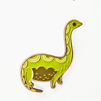 Brontosaurus Pin - Enamel Pin by boygirlparty