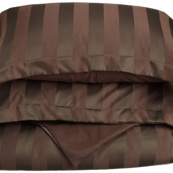 Dobby Stripe Duvet Cover Set