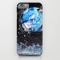 Blue Moon  iPhone & iPod Case by Lunacy Eavee