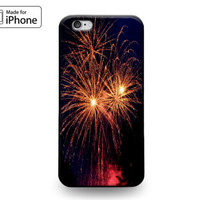 Red Fireworks Celebration 4th of July Cool Case for iPhone 6s 6 Plus 5s 5 SE 5c