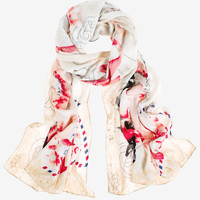 White House | Black Market Love Letter Oblong Scarf