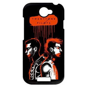 Twenty One Pilots Josh Dun And Tyler Joseph HTC One S Case