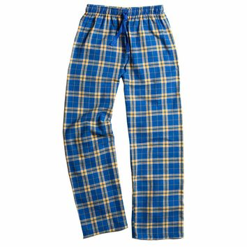 Boxercraft Royal and Gold Flannel Pant