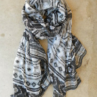 Native Rivers Scarf [3493] - $16.00 : Vintage Inspired Clothing & Affordable Fall Frocks, deloom   Modern. Vintage. Crafted.
