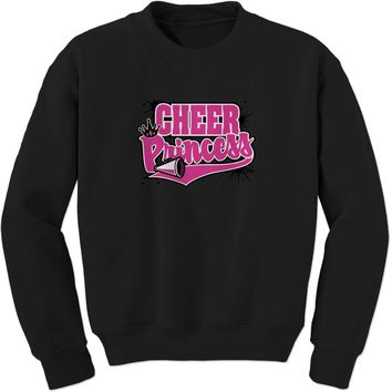 Cheer Princess Adult Crewneck Sweatshirt