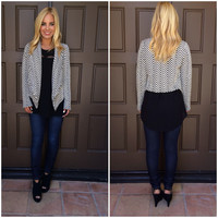 Make A Point Zig Zag Blazer