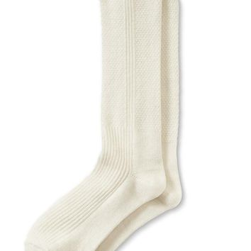 Banana Republic Textured Sock Size One Size - Blushing pink