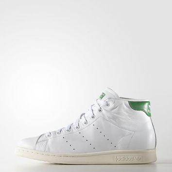 adidas Stan Smith Mid Shoes - White  52b525507