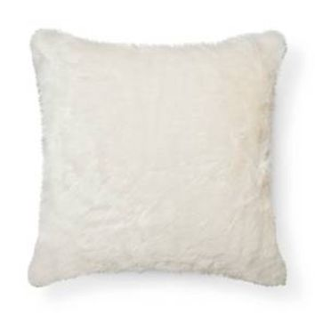 Throw Pillow Faux Fur Oversized - Threshold™ : Target