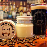 Peanut Butter Coffee Porter 8oz soy candle
