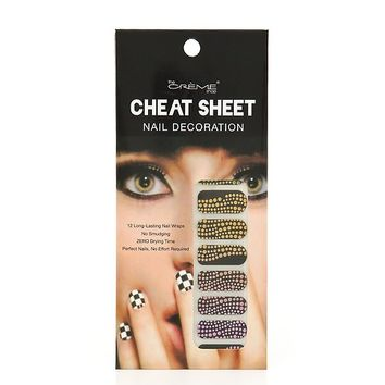 Summer Ombre Nail Strips - Blue, Yellow, Pink