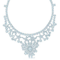 Tiffany & Co. - Tiffany & Co. Schlumberger® Stars and Moons necklace in platinum with diamonds.