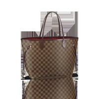 LOUISVUITTON.COM - Louis Vuitton  Neverfull MM (LG) DAMIER EBENE Handbags