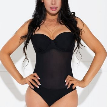 Sydney One Piece Swimsuit Black