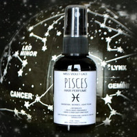 PISCES Hair Perfume - Zodiac Collection - Hair Fragrance, Scented Mist Spray for Human Hair and Synthetic Hair, Wigs and Dreadlocks