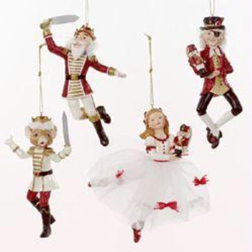 12 Nutcracker Christmas Ornaments - Clara