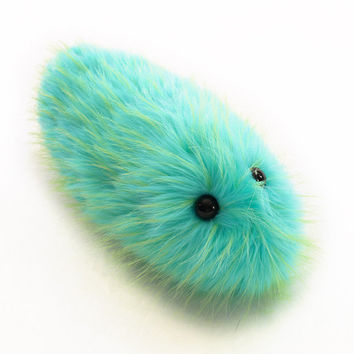 Glow Worm Fuzzy Caterpillar Stuffed Toy Snuggle Worm Plushie