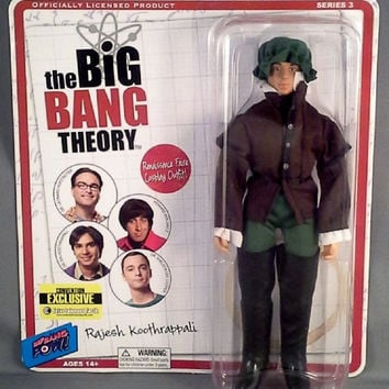 Big Bang Theory Raj Renaissance Faire Action Figure NIB Bif Bang Pow NIP Rajish