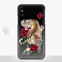 Tiger Phone Case For iPhone 8 iPhone 8 Plus iPhone X Phone 7 Plus iPhone 6 iPhone 6S  iPhone SE Samsung S8 iPhone 5 Samsung S8 Plus S7 Edge