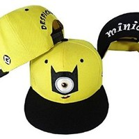 Buy Home Children Adult Despicable Me 2 Minions Movie Hip Hop Baseball Cap Hat Beanies