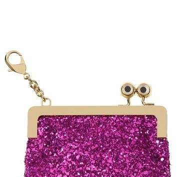 Sophie Hulme Sydney Glitter Coin Purse | Nordstrom