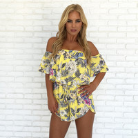 Catch the Sun Floral Romper
