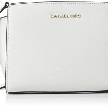 MICHAEL Michael Kors Women's Selma Medium Messenger Bag