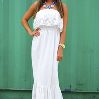 Forever Isn't Long Enough Maxi: Cream | Hope's