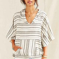 Urban Renewal Remade Poncho Top- Cream One