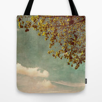 A feeling of spring Tote Bag by Yasmina Baggili