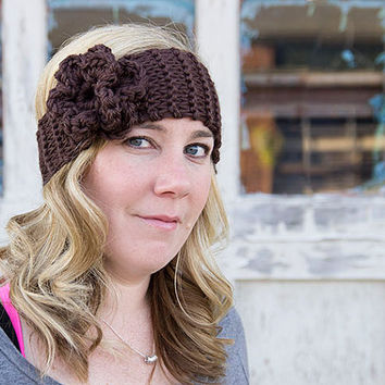 Women's knitted earwarmer, ear warmer, headband, knitted headband