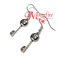 ONCE UPON A TIME Regina Skeleton Key Earrings
