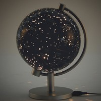 5 in. Illuminated Stars & Constellation Globe