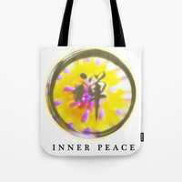 Water Lily's core Tote Bag by Shashira Handmaker