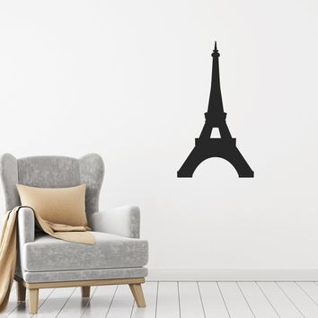 Vinyl Decal Wall Sticker Paris Eiffel Tower Romantic Room Decoration Unique Gift (g017)