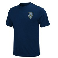 New York Yankees NYPD Sky Majestic Navy T-Shirt