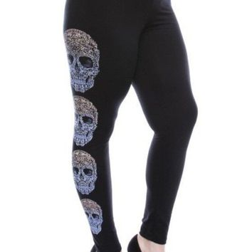 New Fully Stoned Riders Full Ankle Length Tight Plus Size Legging
