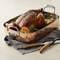 Williams Sonoma Professional Copper Roaster with Rack