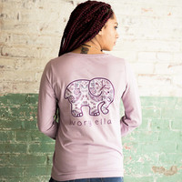 Perfect Fit Nightshade Rosemale Tee