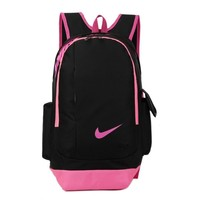 Nike Casual Style Daypack Travel Bag Backpack Shoulder Bag School Backpack Pink One-nice™