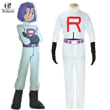 Pokemon Go Cosplay Anime Pocket Monster Pokemon Team Rocket James Cosplay Costumes Pokemon Cosplay Suit