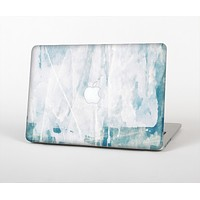 "The Teal and White WaterColor Panel Skin Set for the Apple MacBook Pro 15"" with Retina Display"