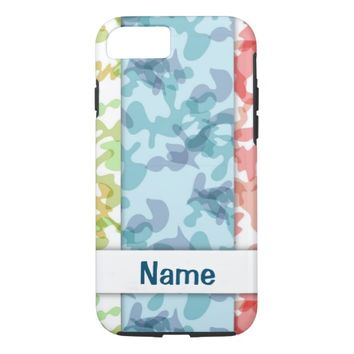 Camouflage Pattern iPhone 8/7 Case