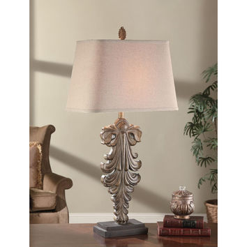 Crestview Collection Cvaup553 Antique Pendant Table Lamp