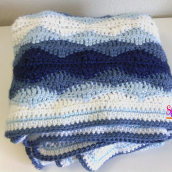 Best Striped Crochet Baby Blanket Products On Wanelo