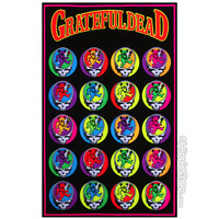 Grateful Dead - Steal Your Bear Black Light Poster on Sale for $11.95 at The Hippie Shop