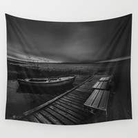 On the wrong side of the lake 5 Wall Tapestry by HappyMelvin