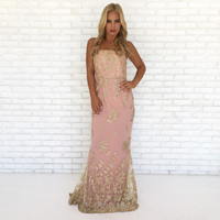 Sweet Elegance Sequin Maxi Dress
