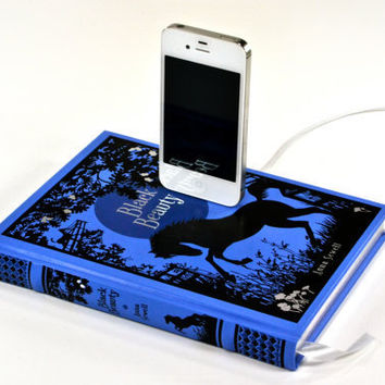 Black Beauty Book Chargier for iPhone and iPod by CANTERWICK