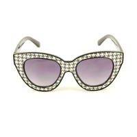 Houndstooth Missy Sunglasses